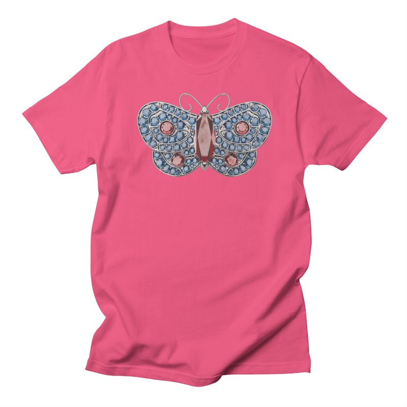Enchanted Butterfly Men's T-Shirt by Genius Design Lab's Artist Shop