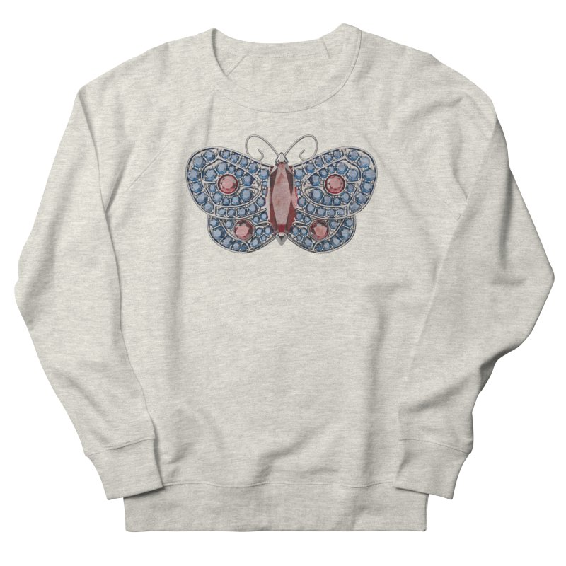 Enchanted Butterfly Men's French Terry Sweatshirt by Genius Design Lab's Artist Shop