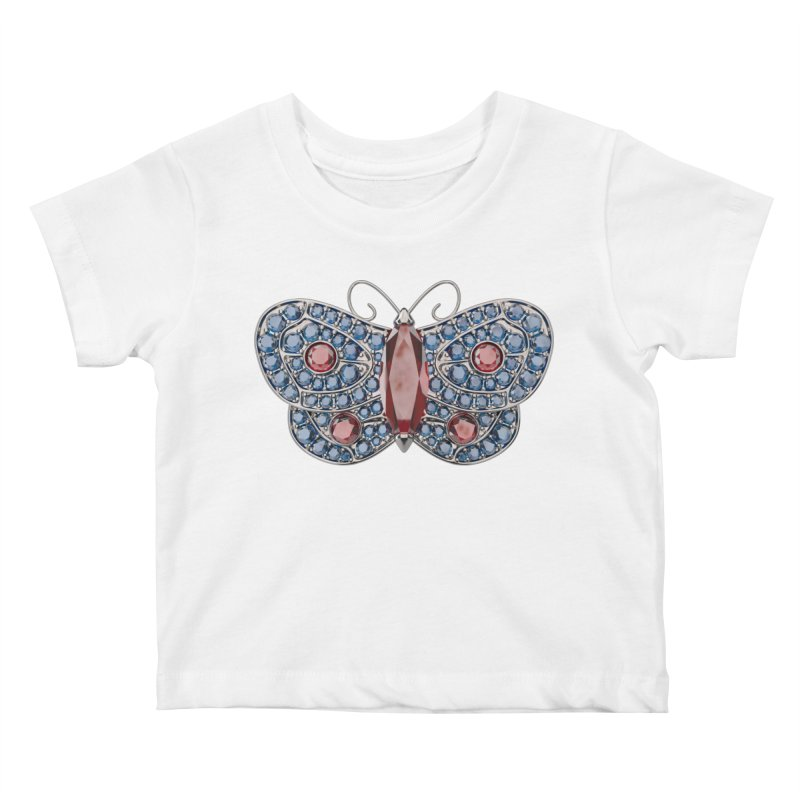 Enchanted Butterfly Kids Baby T-Shirt by Genius Design Lab's Artist Shop