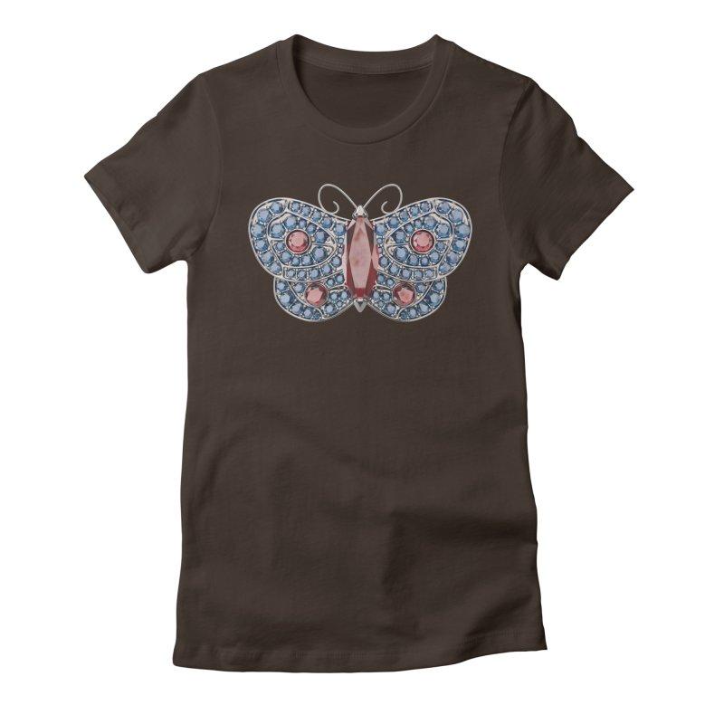 Enchanted Butterfly Women's T-Shirt by Genius Design Lab's Artist Shop