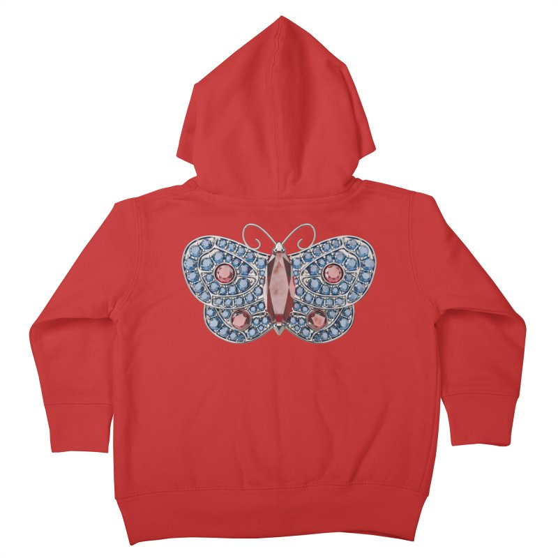 Enchanted Butterfly Kids Toddler Zip-Up Hoody by Genius Design Lab's Artist Shop