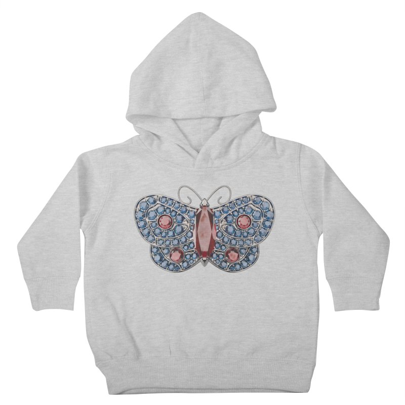 Enchanted Butterfly Kids Toddler Pullover Hoody by Genius Design Lab's Artist Shop