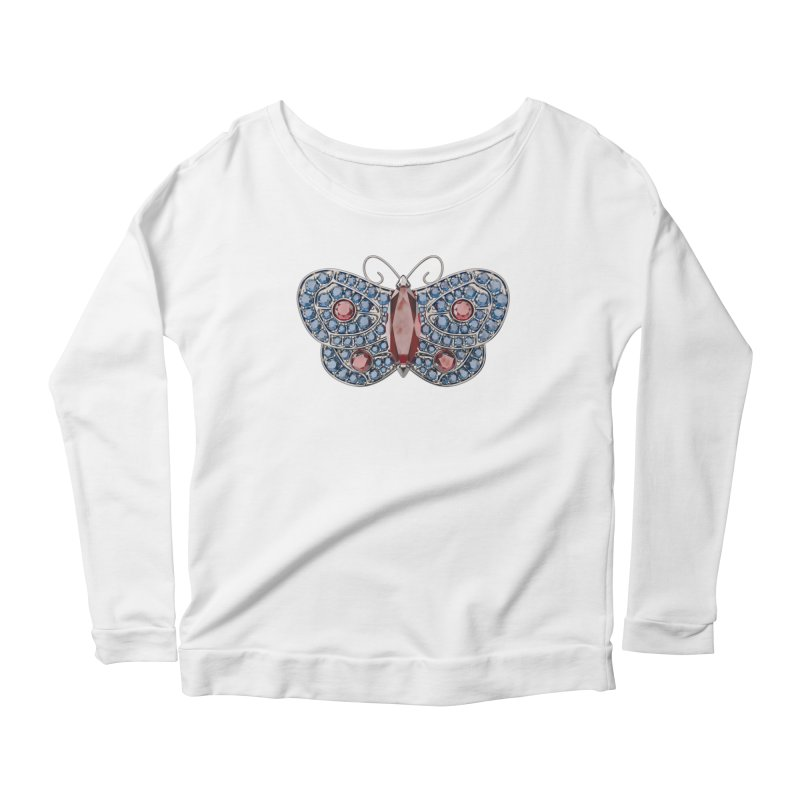 Enchanted Butterfly Women's Longsleeve T-Shirt by Genius Design Lab's Artist Shop