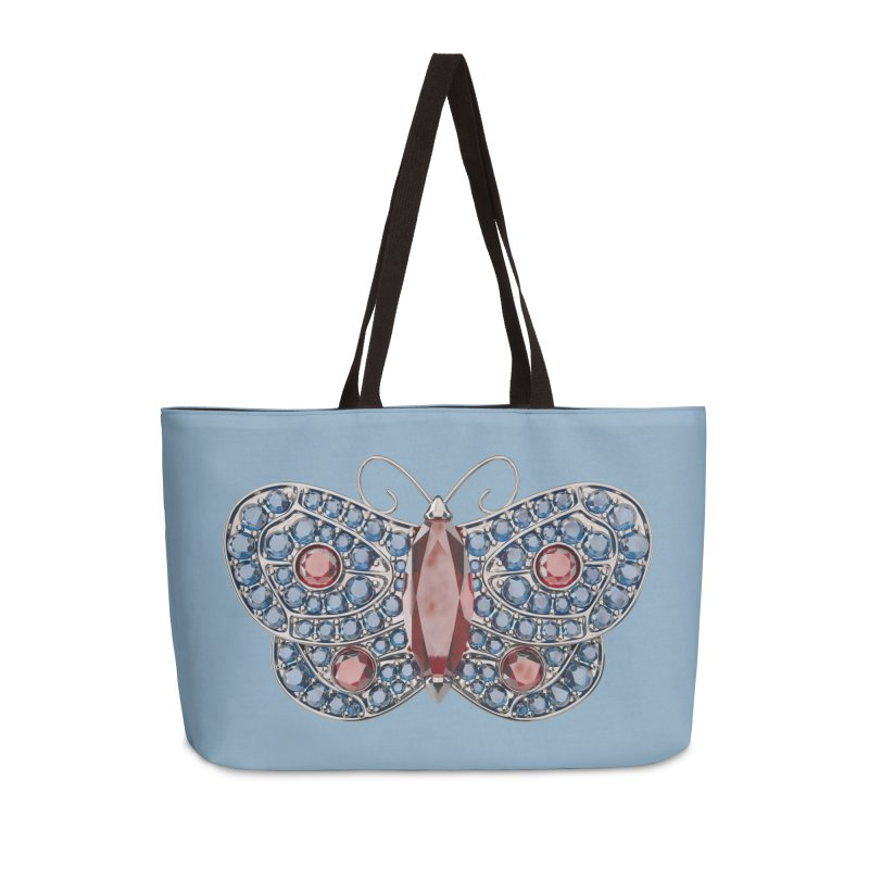 Enchanted Butterfly Accessories Weekender Bag Bag by Genius Design Lab's Artist Shop