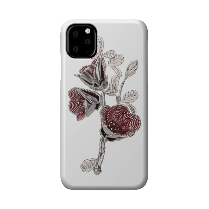 Enchanted Flower I Accessories Phone Case by Genius Design Lab's Artist Shop