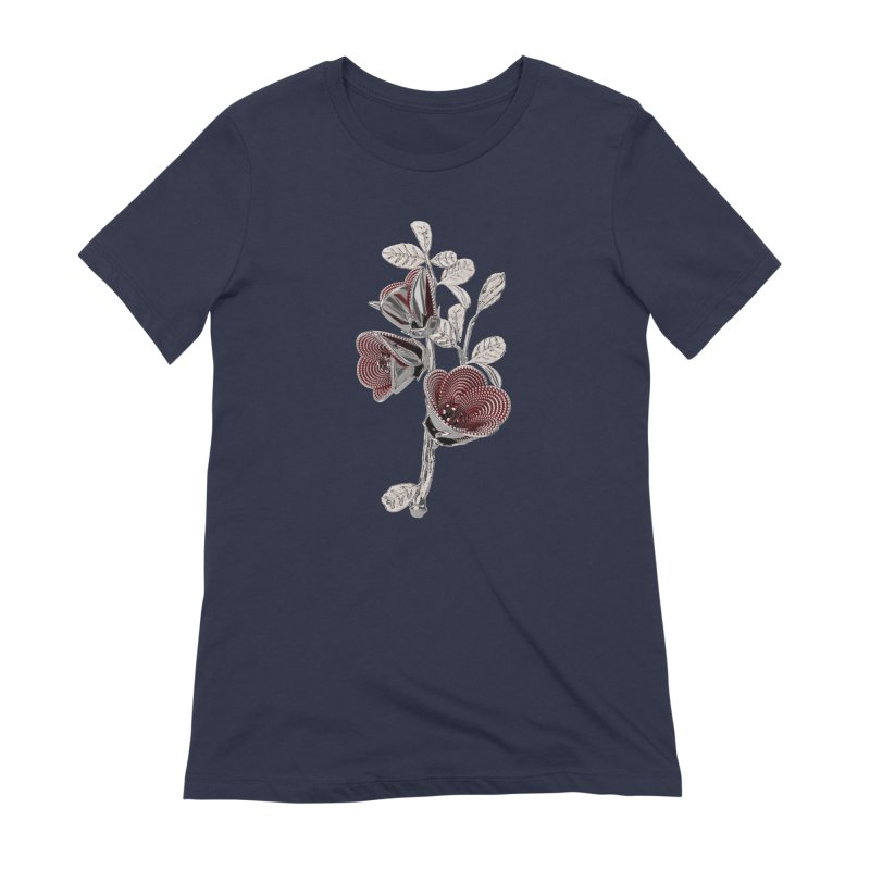 Enchanted Flower I Women's T-Shirt by Genius Design Lab's Artist Shop