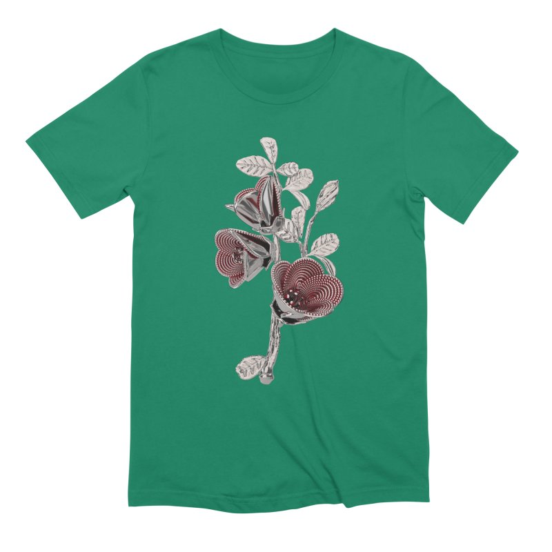Enchanted Flower I Men's Extra Soft T-Shirt by Genius Design Lab's Artist Shop