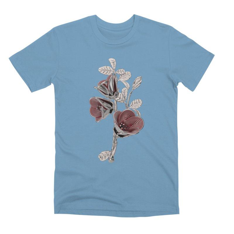 Enchanted Flower I Men's Premium T-Shirt by Genius Design Lab's Artist Shop