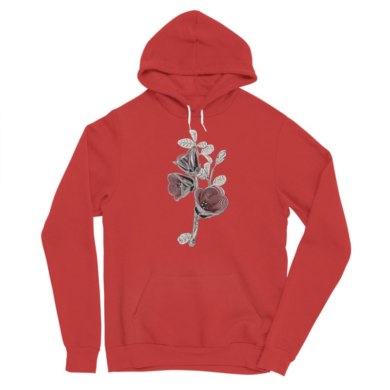 Enchanted Flower I Men's Pullover Hoody by Genius Design Lab's Artist Shop