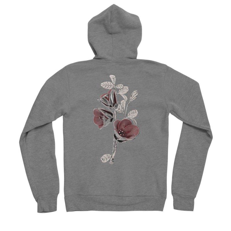 Enchanted Flower I Women's Sponge Fleece Zip-Up Hoody by Genius Design Lab's Artist Shop