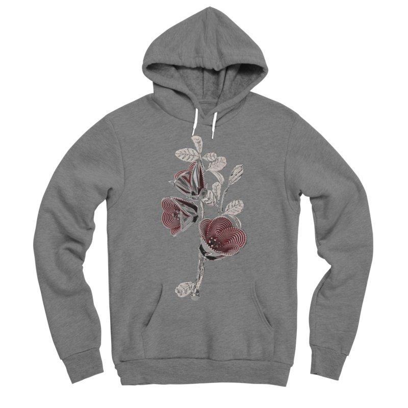 Enchanted Flower I Men's Sponge Fleece Pullover Hoody by Genius Design Lab's Artist Shop