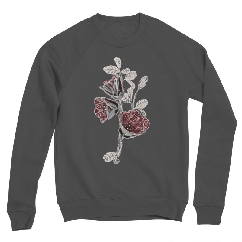Enchanted Flower I Women's Sponge Fleece Sweatshirt by Genius Design Lab's Artist Shop