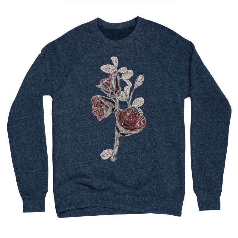 Enchanted Flower I Men's Sponge Fleece Sweatshirt by Genius Design Lab's Artist Shop