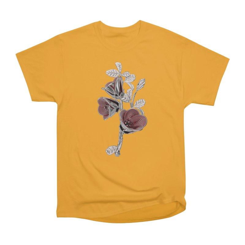 Enchanted Flower I Men's Heavyweight T-Shirt by Genius Design Lab's Artist Shop
