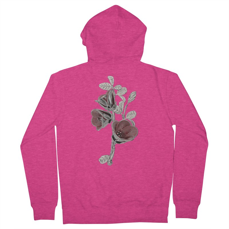 Enchanted Flower I Women's Zip-Up Hoody by Genius Design Lab's Artist Shop