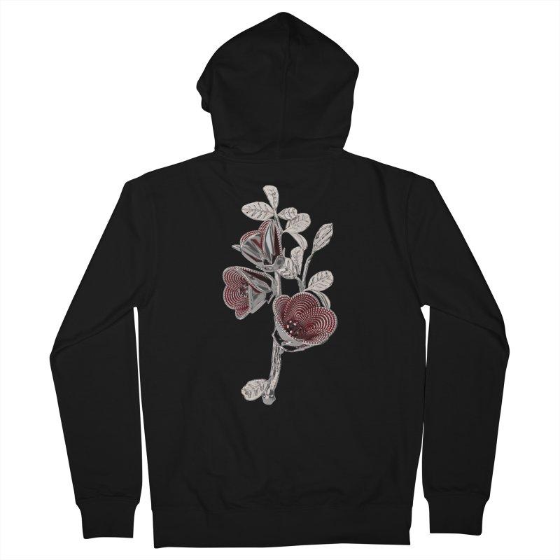 Enchanted Flower I Women's Zip-Up Hoody by Genius Design Lab's Artist Shop