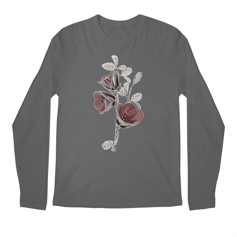 Enchanted Flower I Men's Longsleeve T-Shirt by Genius Design Lab's Artist Shop