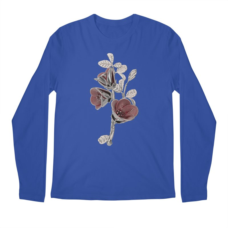 Enchanted Flower I Men's Longsleeve T-Shirt by Genius Design Lab's Artist Shop