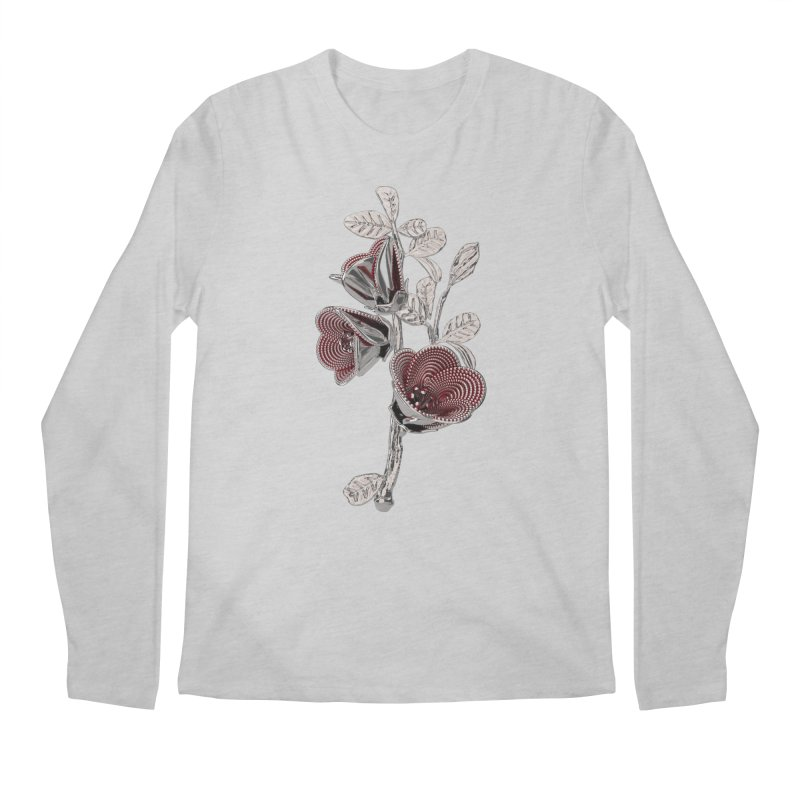 Enchanted Flower I Men's Regular Longsleeve T-Shirt by Genius Design Lab's Artist Shop