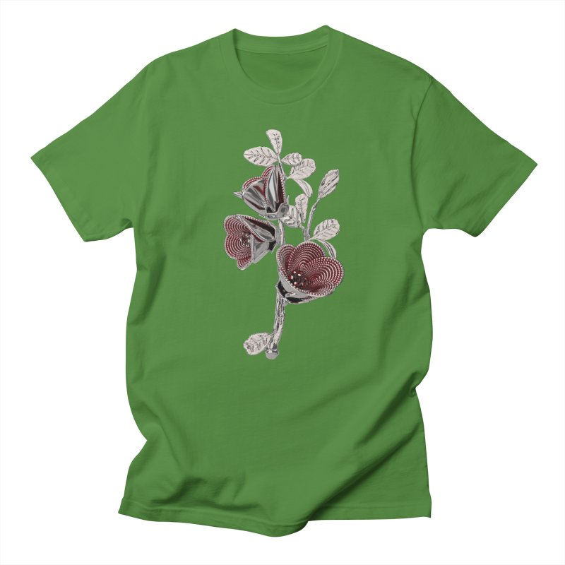Enchanted Flower I Men's Regular T-Shirt by Genius Design Lab's Artist Shop