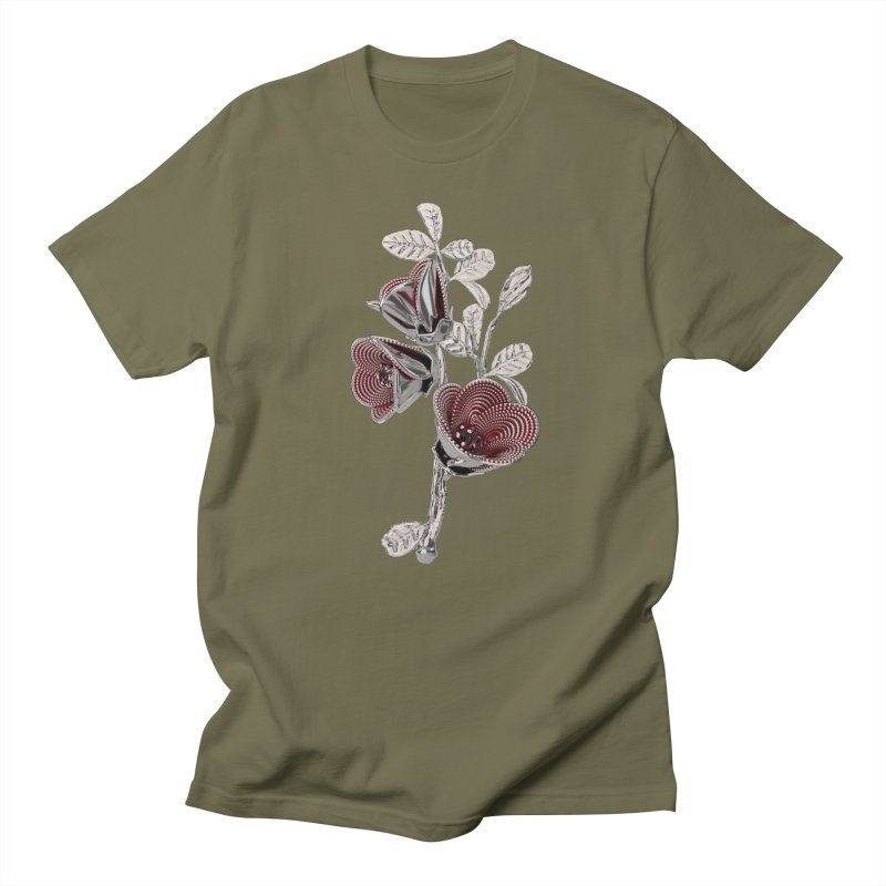 Enchanted Flower I Men's T-Shirt by Genius Design Lab's Artist Shop