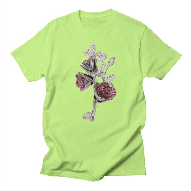 Enchanted Flower I Men's Regular T-Shirt by Genius Design Lab's Artist Shop