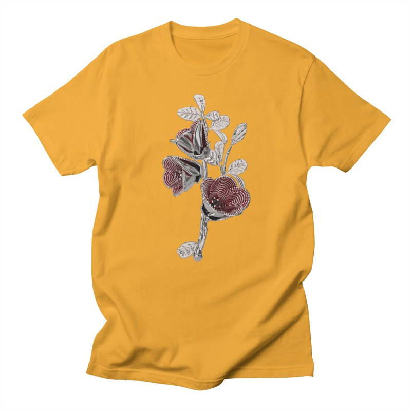 Enchanted Flower I Men's T-Shirt by Genius Design Lab's Artist Shop