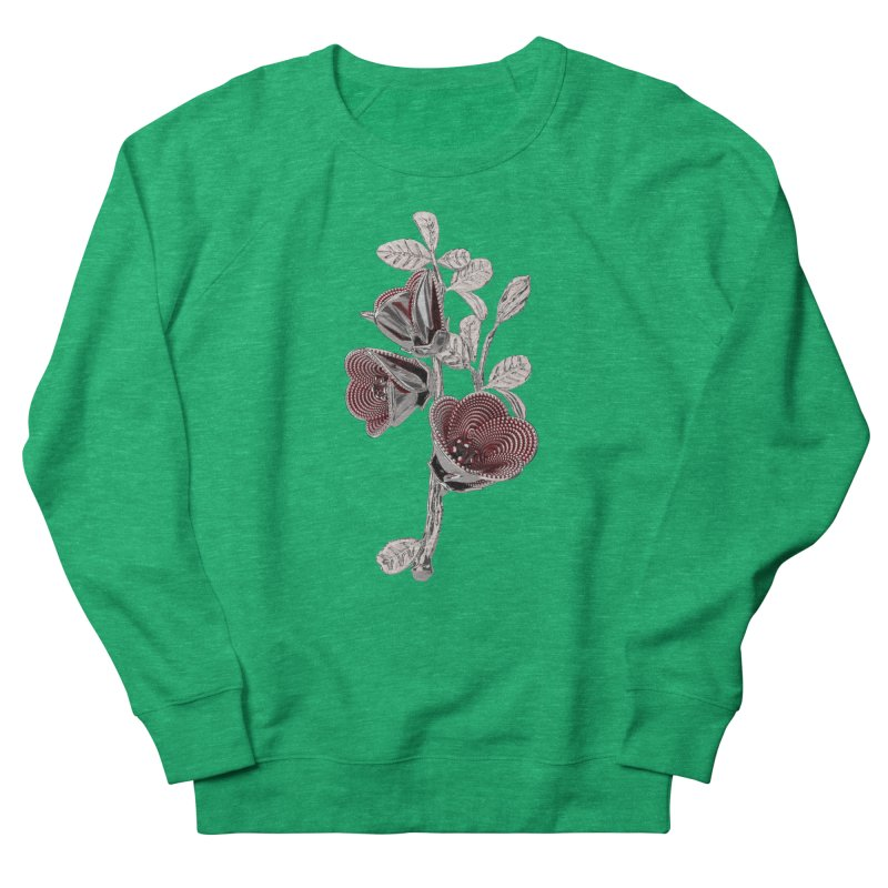 Enchanted Flower I Women's French Terry Sweatshirt by Genius Design Lab's Artist Shop