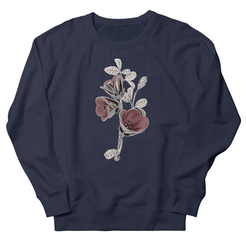 Enchanted Flower I Women's Sweatshirt by Genius Design Lab's Artist Shop