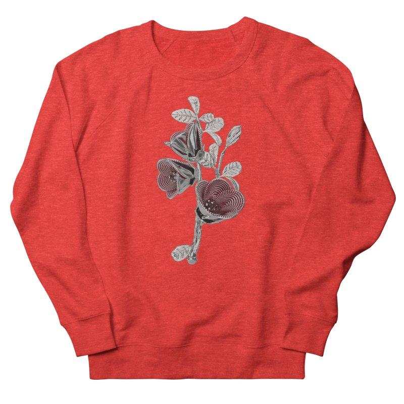 Enchanted Flower I Men's Sweatshirt by Genius Design Lab's Artist Shop