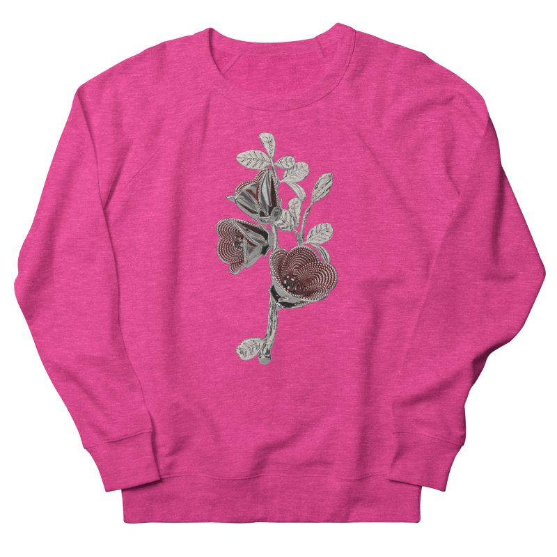 Enchanted Flower I Men's French Terry Sweatshirt by Genius Design Lab's Artist Shop
