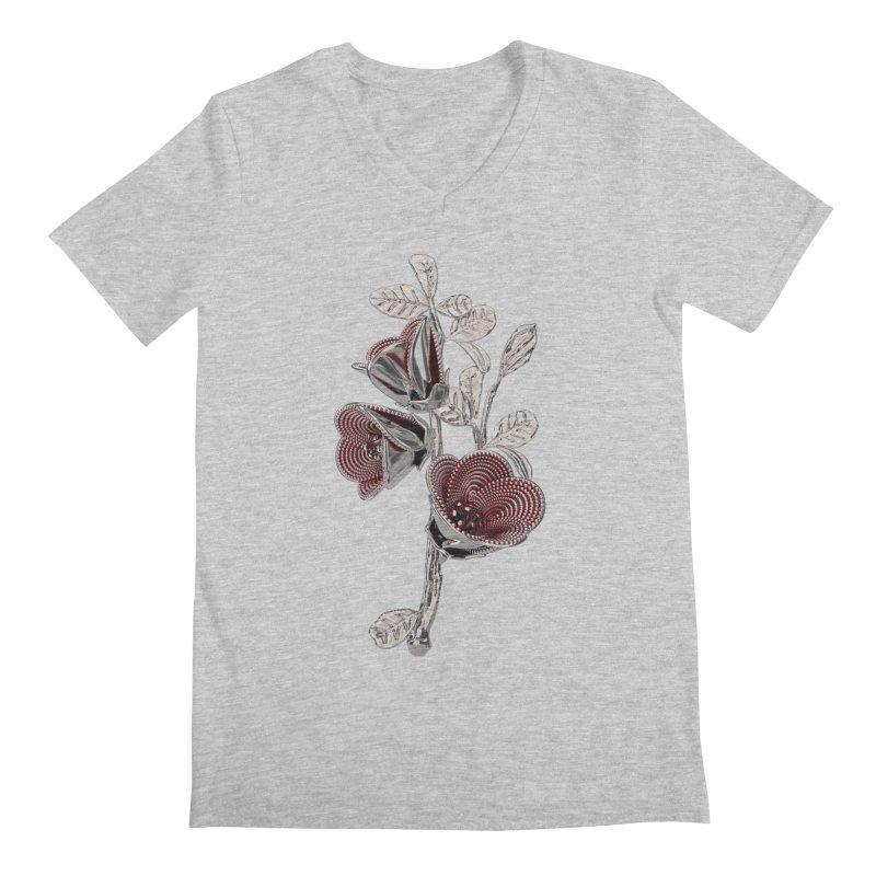 Enchanted Flower I Men's V-Neck by Genius Design Lab's Artist Shop