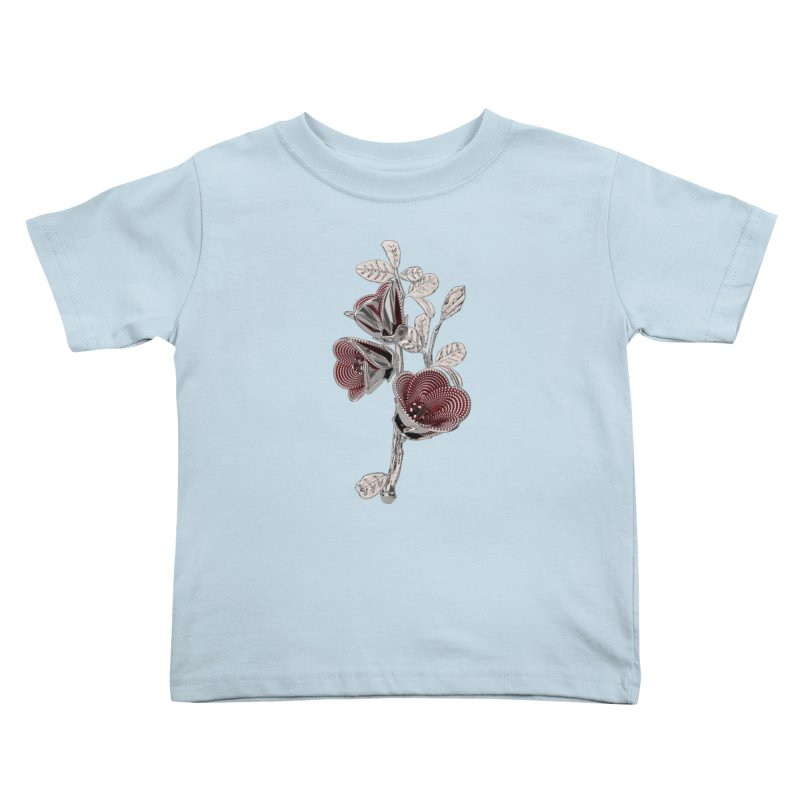 Enchanted Flower I Kids Toddler T-Shirt by Genius Design Lab's Artist Shop