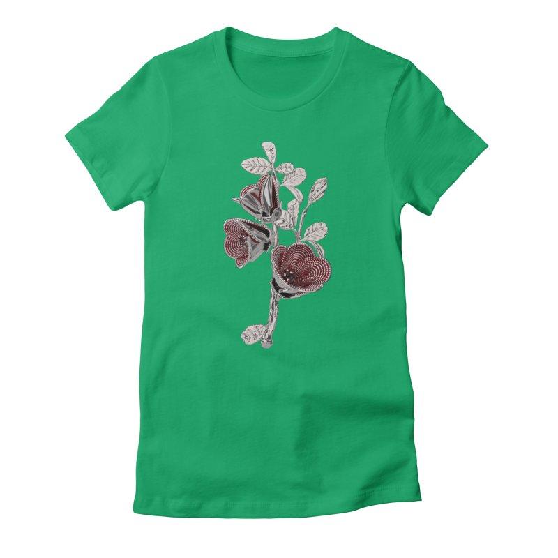 Enchanted Flower I Women's T-Shirt by Genius Design Lab's Artist Shop