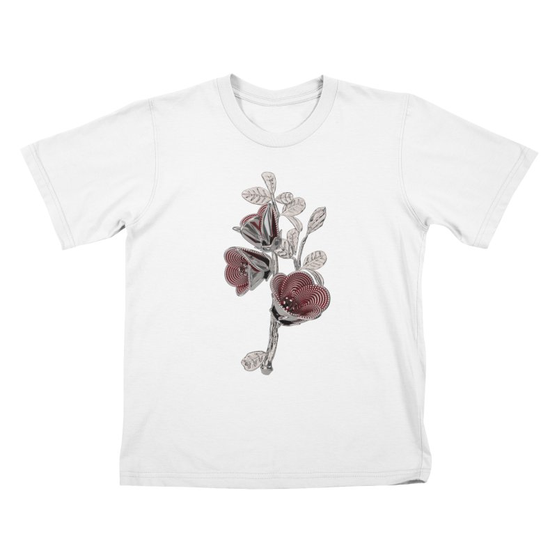 Enchanted Flower I Kids T-Shirt by Genius Design Lab's Artist Shop