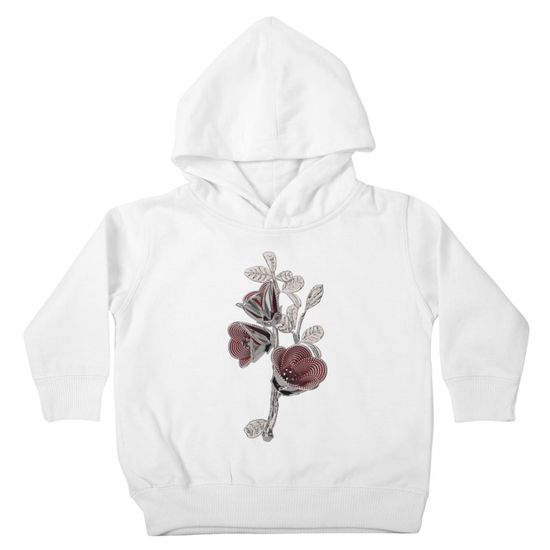 Enchanted Flower I Kids Toddler Pullover Hoody by Genius Design Lab's Artist Shop