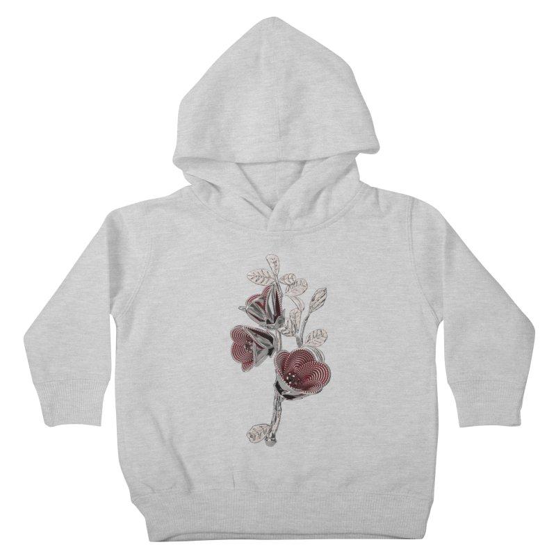 Enchanted Flower I Kids Toddler Pullover Hoody by Genius Design Lab's Artist Shop