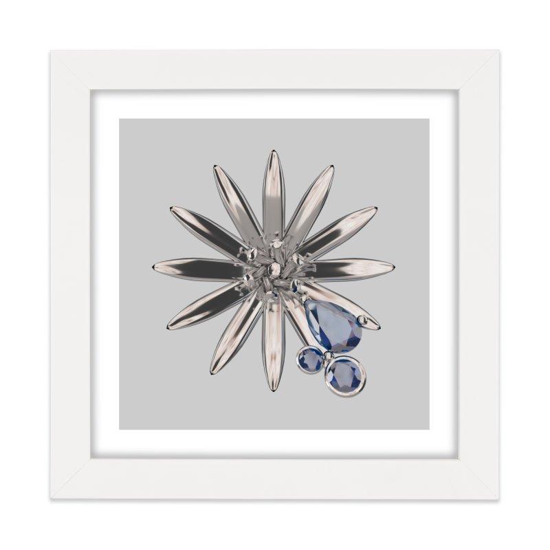 Enchanted Flower II Home Framed Fine Art Print by Genius Design Lab's Artist Shop