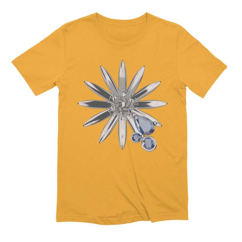 Enchanted Flower II Men's Extra Soft T-Shirt by Genius Design Lab's Artist Shop