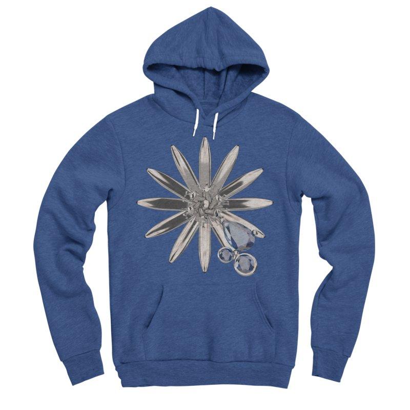 Enchanted Flower II Men's Sponge Fleece Pullover Hoody by Genius Design Lab's Artist Shop