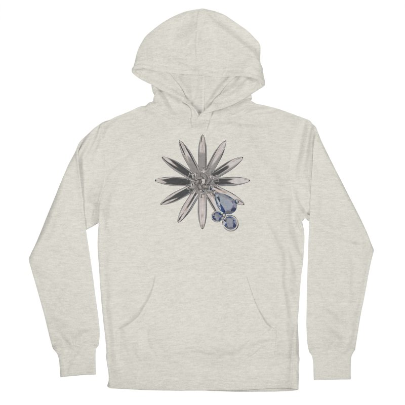 Enchanted Flower II Men's French Terry Pullover Hoody by Genius Design Lab's Artist Shop