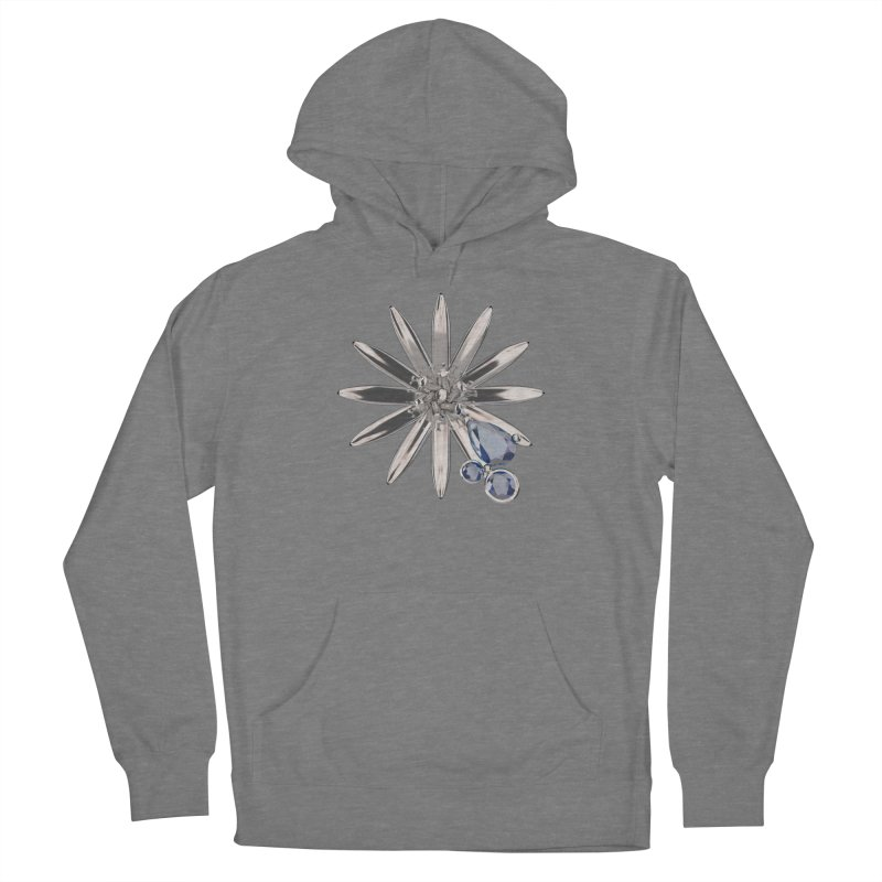 Enchanted Flower II Men's Pullover Hoody by Genius Design Lab's Artist Shop