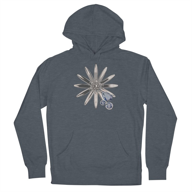 Enchanted Flower II Women's French Terry Pullover Hoody by Genius Design Lab's Artist Shop