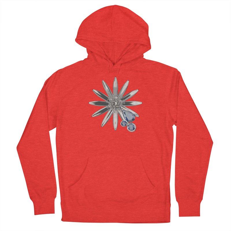 Enchanted Flower II Men's Pullover Hoody by Genius Design Lab's Artist Shop