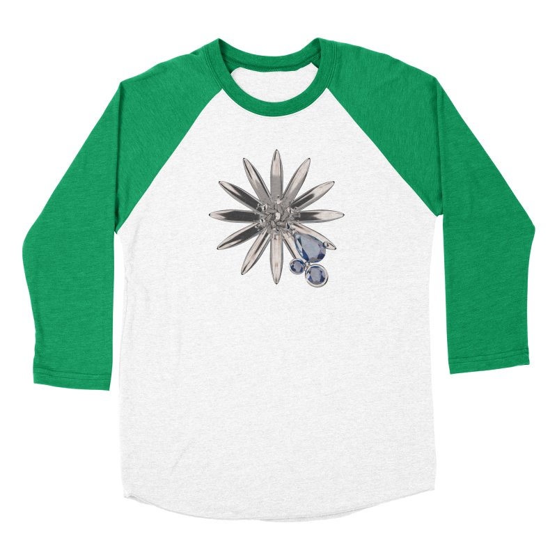 Enchanted Flower II Women's Longsleeve T-Shirt by Genius Design Lab's Artist Shop