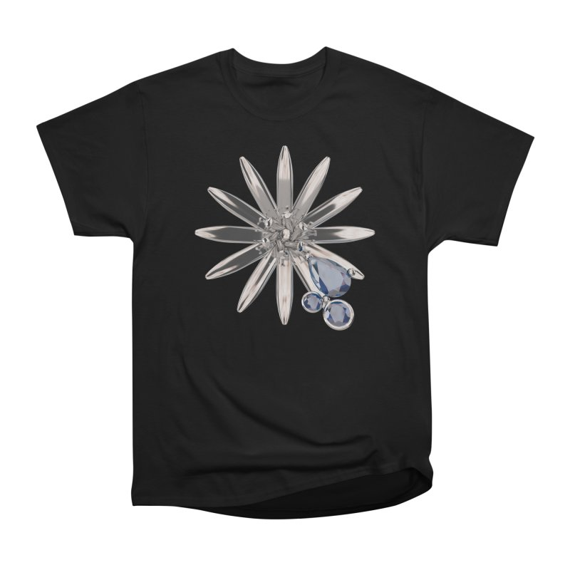 Enchanted Flower II Men's T-Shirt by Genius Design Lab's Artist Shop