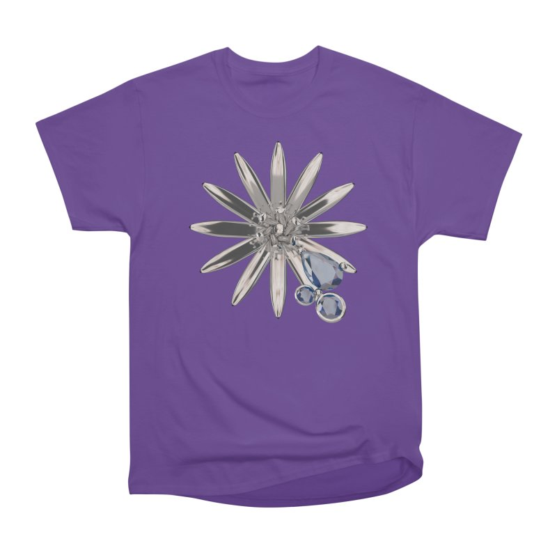 Enchanted Flower II Men's Heavyweight T-Shirt by Genius Design Lab's Artist Shop
