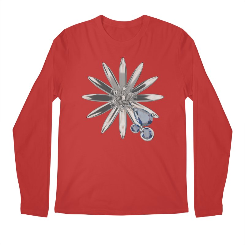 Enchanted Flower II Men's Regular Longsleeve T-Shirt by Genius Design Lab's Artist Shop