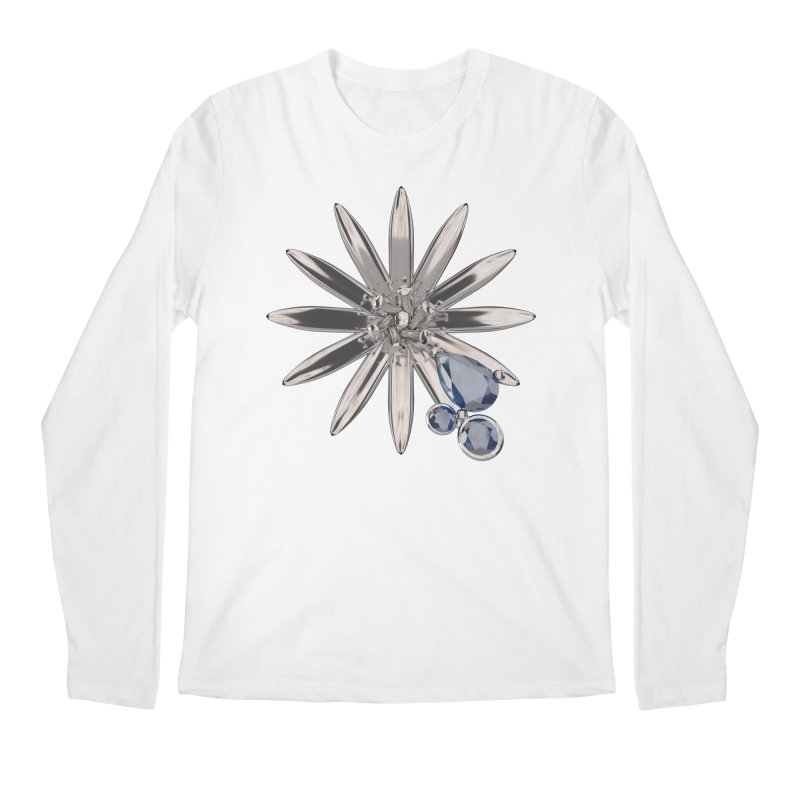 Enchanted Flower II Men's Longsleeve T-Shirt by Genius Design Lab's Artist Shop