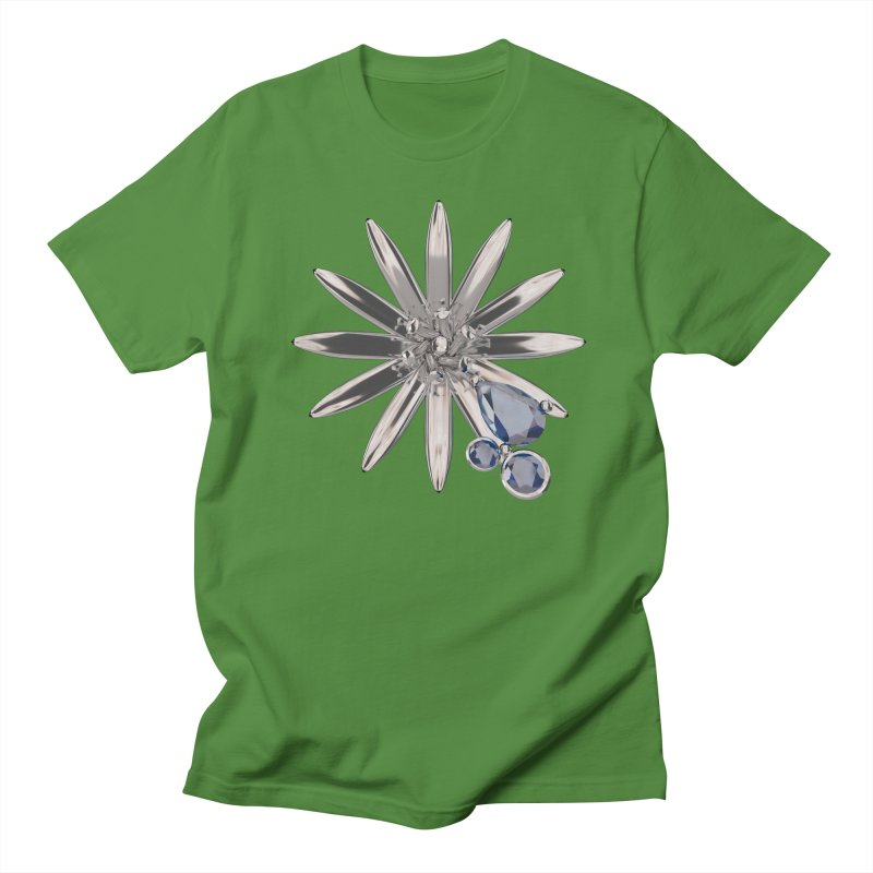 Enchanted Flower II Men's Regular T-Shirt by Genius Design Lab's Artist Shop
